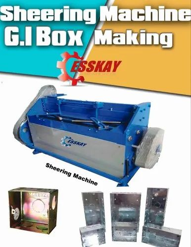 Modular Box Sheering Machine