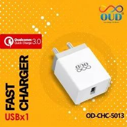 OUD White OD CHC 5013 USB into 1 Fast Charger