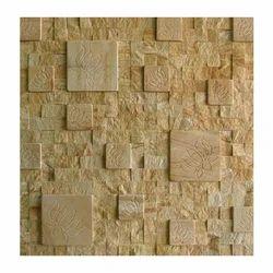 Teak Sandstone Roman Mosaic Tiles