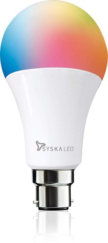 5 W Syska Speaker Smart Rainbow LED Bulb, Base Type: B22