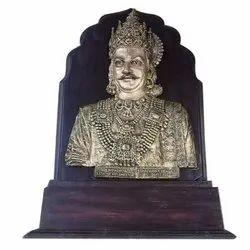 Bronze King Wooden Mementos
