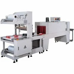 Semi Automatic Sleeve Wrapper and PE Thermal Shrink Packaging Machine