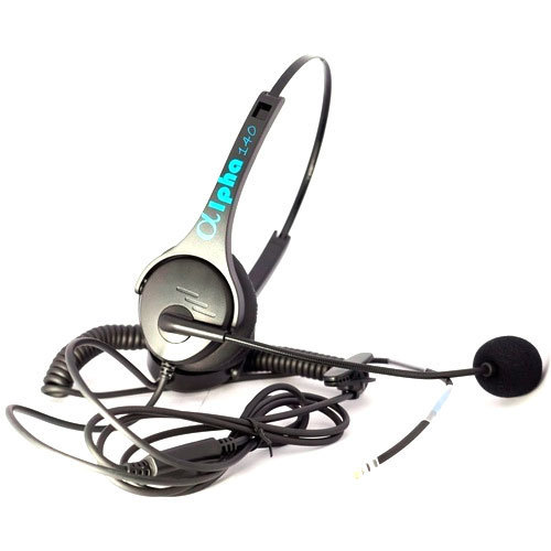 Desibel Black Call Center IP Phone Headset