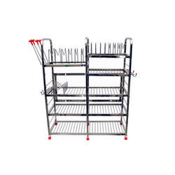 Modern Classic Stainless Steel Kitchen Stand