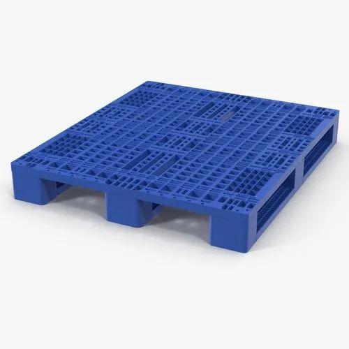 4-Way HDPE Plastic Pallet, Dimension/Size: 1200 X 800 X 145 Mm,   ID:  21888954555