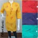 Designer Jaipuri Short Kurtis