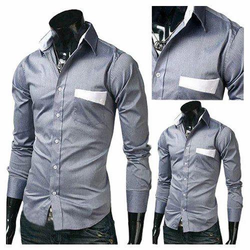 plain mens formal shirt at rs 250 piece mens cotton shirts id
