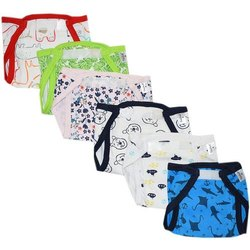 Cotton Newborn Cloth Nappy Padded Baby Nappies, Size: Medium, Age Group: 3-12 Months