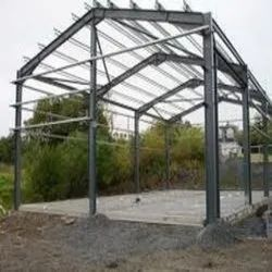 Steel Panel Build Structural Shed