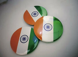 Promotional Independence Day Badges