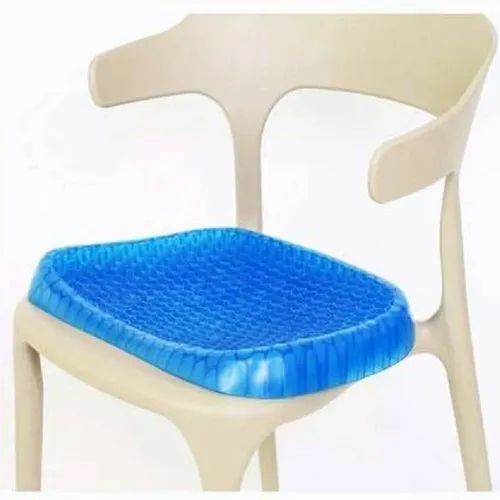 Soft Egg Rubber Gel Cushion Sitter Soft Breathable Honeycomb Cushion Memory Seat Pillow Flex Pillow