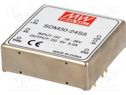 SDM30-24S5 MW DC to DC Converters