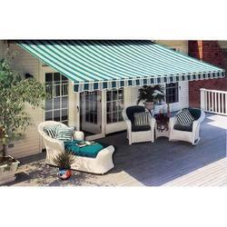 Striped Terrace Awning