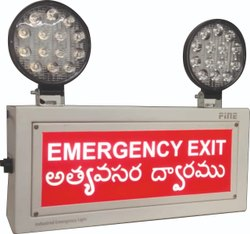 Fine Emergency Exit LED Light