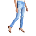 Silky Jeans Denim Patch