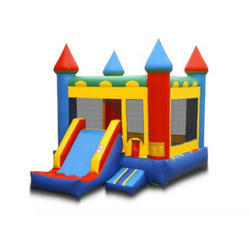 Bouncy Castle With Jumping And Sliding