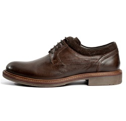 Men's Brown Casual Plus Formal Leather Shoes