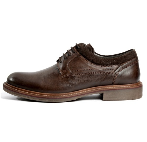 mens brown leather casual shoes