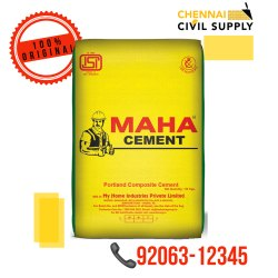 Maha PPC Grade Cement, Packaging Size: 50 Kg