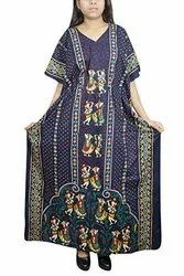 Full Length Cotton Ladies Night Dress, Size: free