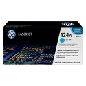 HP Q6001A 124A Cyan Toner Cartridge