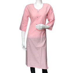 Pink Formal Wear Kurti