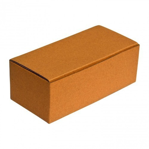 Rectangular Brown Corrugated Shoes Boxes
