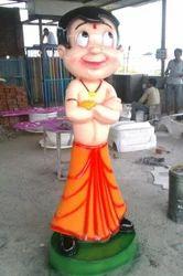 Chota Bhim Statue