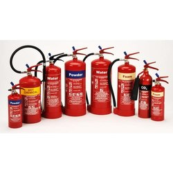 Carbon Steel A B C Dry Powder Type Fire Extinguisher, for Industrial, Capacity: 4Kg