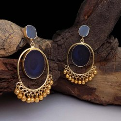 GOLD PLATED DESIGNER EARRING