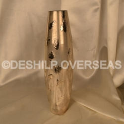 Silver Eatching Flower Vase