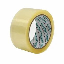Single Sided PVC Transparent Plastic Packaging Tape, Size: 2 inch