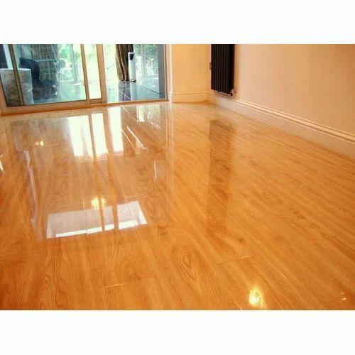 Oak Wood And Rubber Laminate Flooring, Rubber Laminate Flooring
