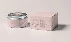Printed Skin Cream Packaging Box