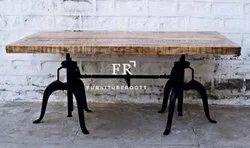 Black Vintage Cafe Table