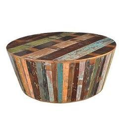 Multicolor Wood Coffee Table, for Restaurant