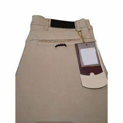 Men Brown Formal Trouser