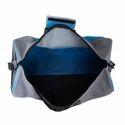 Sky Blue Gym Duffel Bag