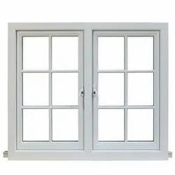Silver Mill Finish, Powder Coated Aluminium Window Grill, For Windows