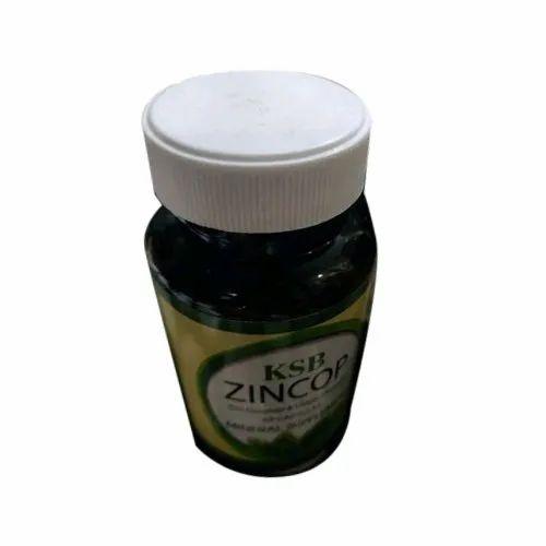 KSB Food Supplements Zincop Tablets, Packaging Size: 60 Tables