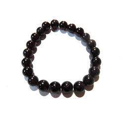 Garnet Gemstone Beads Bracelet