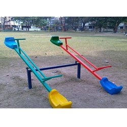 Outdoor 4 Seater Seesaw