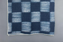 Cotton Tie And Dye Quilt / Shibori Jaipuri Razai / Double Bed King Queen / Kantha Quilts