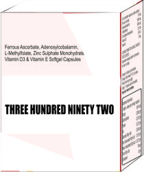 Ferrous Ascorbate Adenosylcobalamin L-Methylfolate Zinc Sulphate Monohydrate Vitamin D3 & E