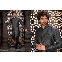 Heavy Designer Sherwani with Bridges