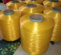 Yellow Color Silk Thread