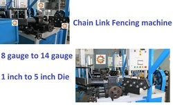Chain Link Fencing Jali Machine