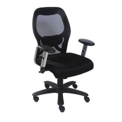 Furnotech Black Flexible Chairs, Model Name/Number: Ft-141