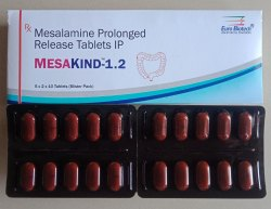 Mesalamine 1200 mg (Prolonged Release)