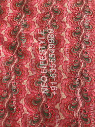 Embroidery Digital Printed Fabric